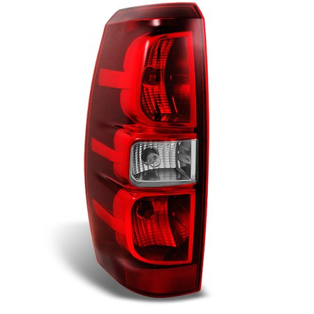 Fit 2007-2013 Chevy Avalanche Driver Left Side Rear Tail Light Brake Replacement Chevy Tahoe Drivers Side Tail