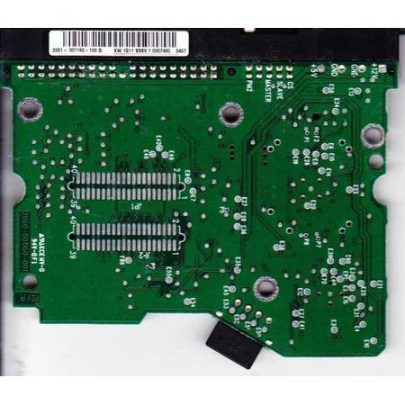 WD1200JB-00DUA3, 2061-001160-100 D, WD IDE 3.5 PCB