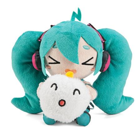 Vocaloid Excited Hatsune Miku x Shumai-kun Plush Toy](Miku Plus Halloween)