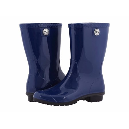 ea938cf67fa ugg women's sienna rain boot, blue jay, 5 us/5 b us