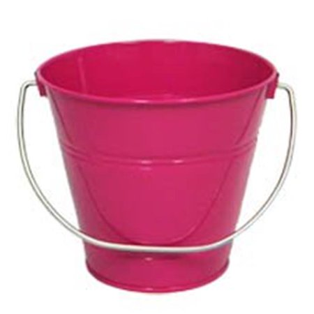 ITALIA 10428 5.5 x 6 In. Magenta Metal Bucket - 6 Pack