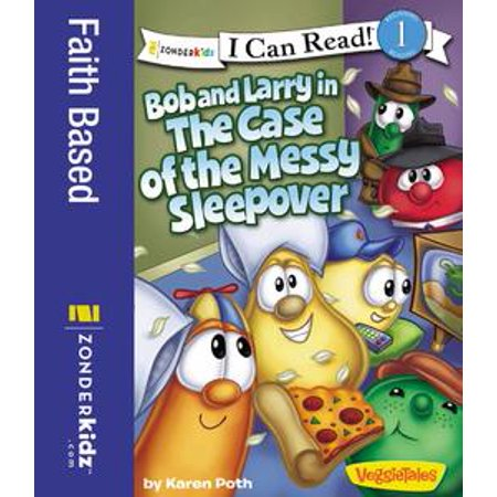 Bob and Larry in the Case of the Messy Sleepover - - Halloween Sleepover Food Ideas