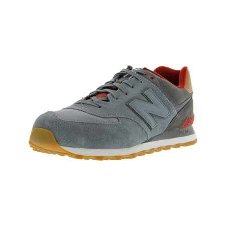 4298b61faa720 New Balance - New Balance Men's Ml574 Neb Ankle-High Suede Fashion Sneaker  - 14M - Walmart.com