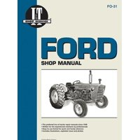 I & T Shop Service: Ford Shop Manual Series 2000 3000 & 4000 (Paperback)