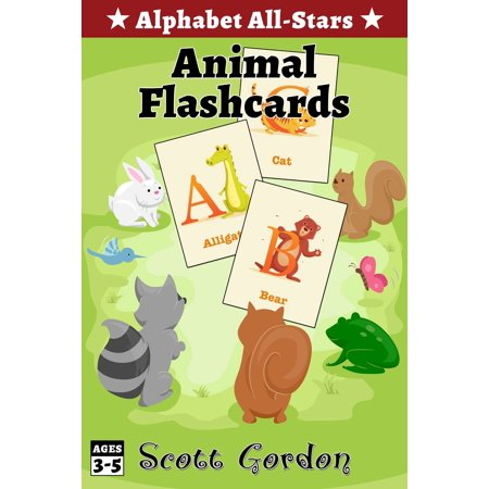 Alphabet All-Stars: Animal Flashcards - eBook