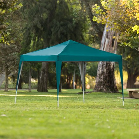 Best Choice Products 10x10ft Outdoor Portable Lightweight Folding Instant Pop Up Gazebo Canopy Shade Tent w/ Adjustable Height, Wind Vent, Carrying Bag - Green