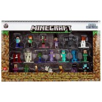 "Jada Toys Minecraft Nano METALFIGS 20-Pack Wave 2 Die-Cast, 1.65"", Collectible Figurines, 100%"