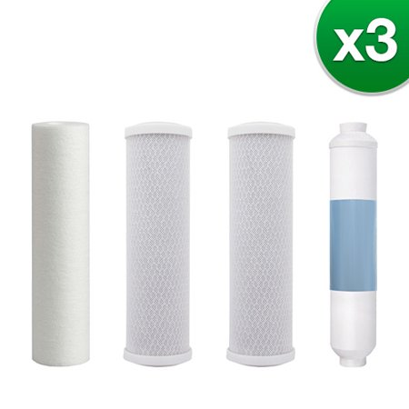 Puromax 5 Stage RO Reverse Osmosis Replacement Water Filter Kit for PC