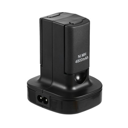 Charging Station Charger Dock+2X 4800mAh Rechargeable Battery for Xbox 360 - image 8 de 10