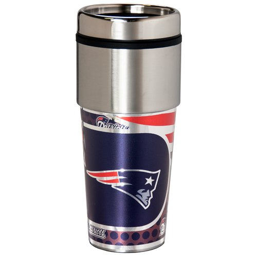 NFL New England Patriots Stainless Steel Tumbler - Generic Brand