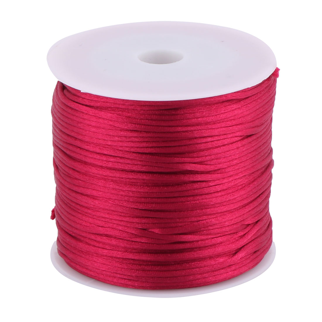 Nylon Handicraft DIY Knit Fan Decor Pendant Cord Burgundy 1.5mm Dia 78.7 Yards