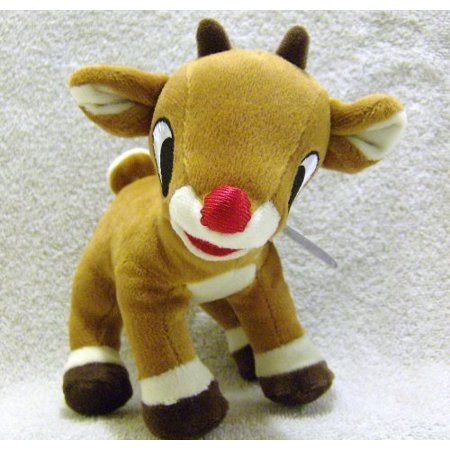 Rudolph the Red Nosed Reindeer and Friends 6 Inch Plush Rudolph - Red Nose Reindeer Plush