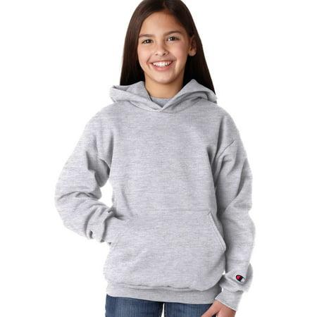 - Champion Hoody Sweatshirt S790 Youth 9 oz. 50/50 EcoSmart Pullover