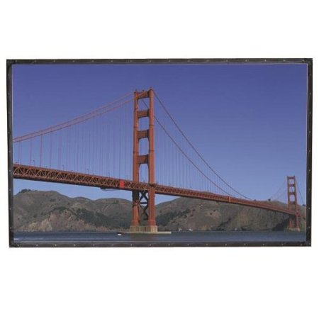 """Cineperm HiDef Grey Fixed Frame Projection Screen Viewing Area: 94"""" H x 124"""" W"""