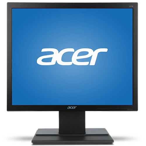 "Acer Essential 17"" LCD Monitor (V176L bm, Black)"