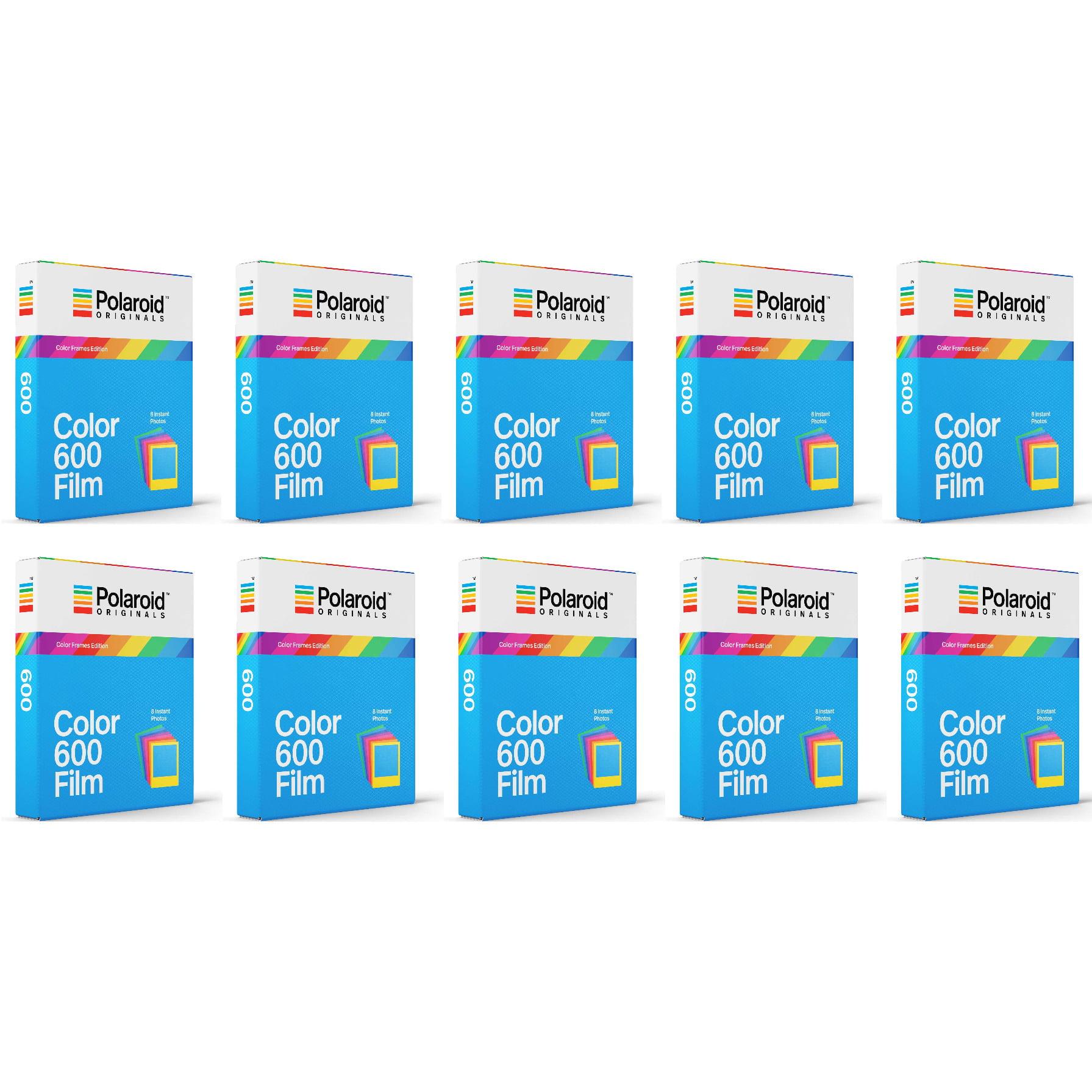 Polaroid Originals Instant Color Film for Color Frames (600 Camera) 10 Pack by Polaroid Originals