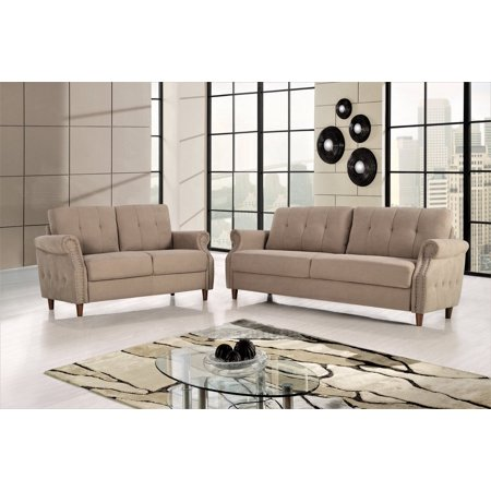 Italian Living Room Set - US Pride Furniture Briscoe 2 Piece Living Room Set