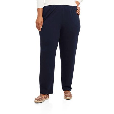 be789a691de White Stag - Women s Plus-Size Knit Pull-On Pants