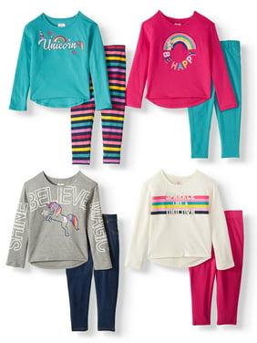 365 Kids From Garanimals Girls' Clothing Mix & Match Kid-Pack Gift Box, 8-Piece Outfit Set (Little Girls & Big Girls)