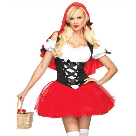 Leg Avenue Racy Red Riding Hood Adult Womens Costume