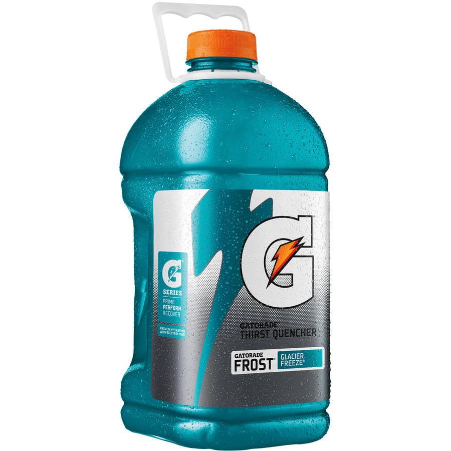 Gatorade Thirst Quencher Frost Glacier Freeze Sports Drink, 128 Fl Oz