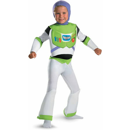 Toy Story Buzz Lightyear Deluxe Child Halloween Dress Up / Role Play Costume - Buzz Lightyear Halloween Costume