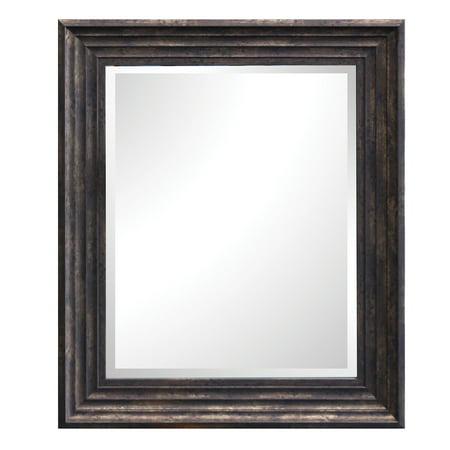 Yosemite Home Espresso Framed Wall Mirror