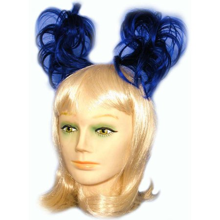Anime Colored Pigtail Hairpiece - Halloween Pigtails