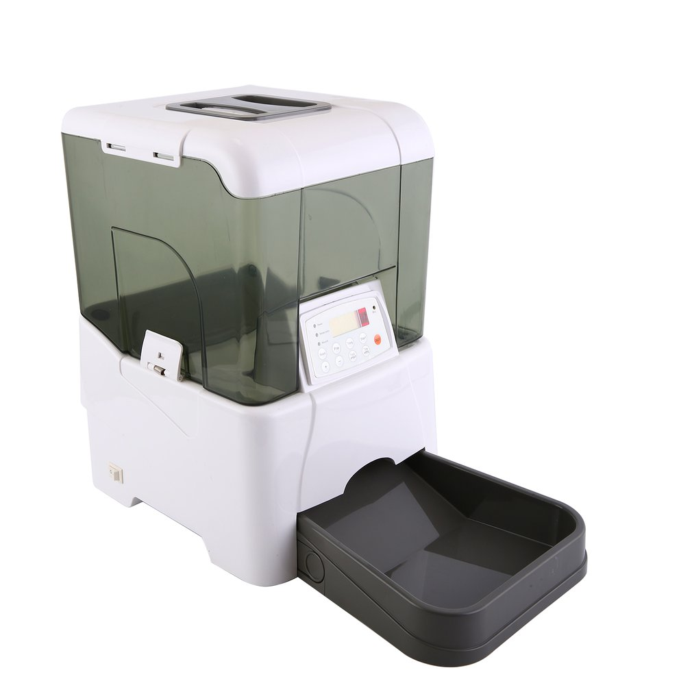 Automatic Pet Feeder Dog Cat Programmable Animal Food Bowl