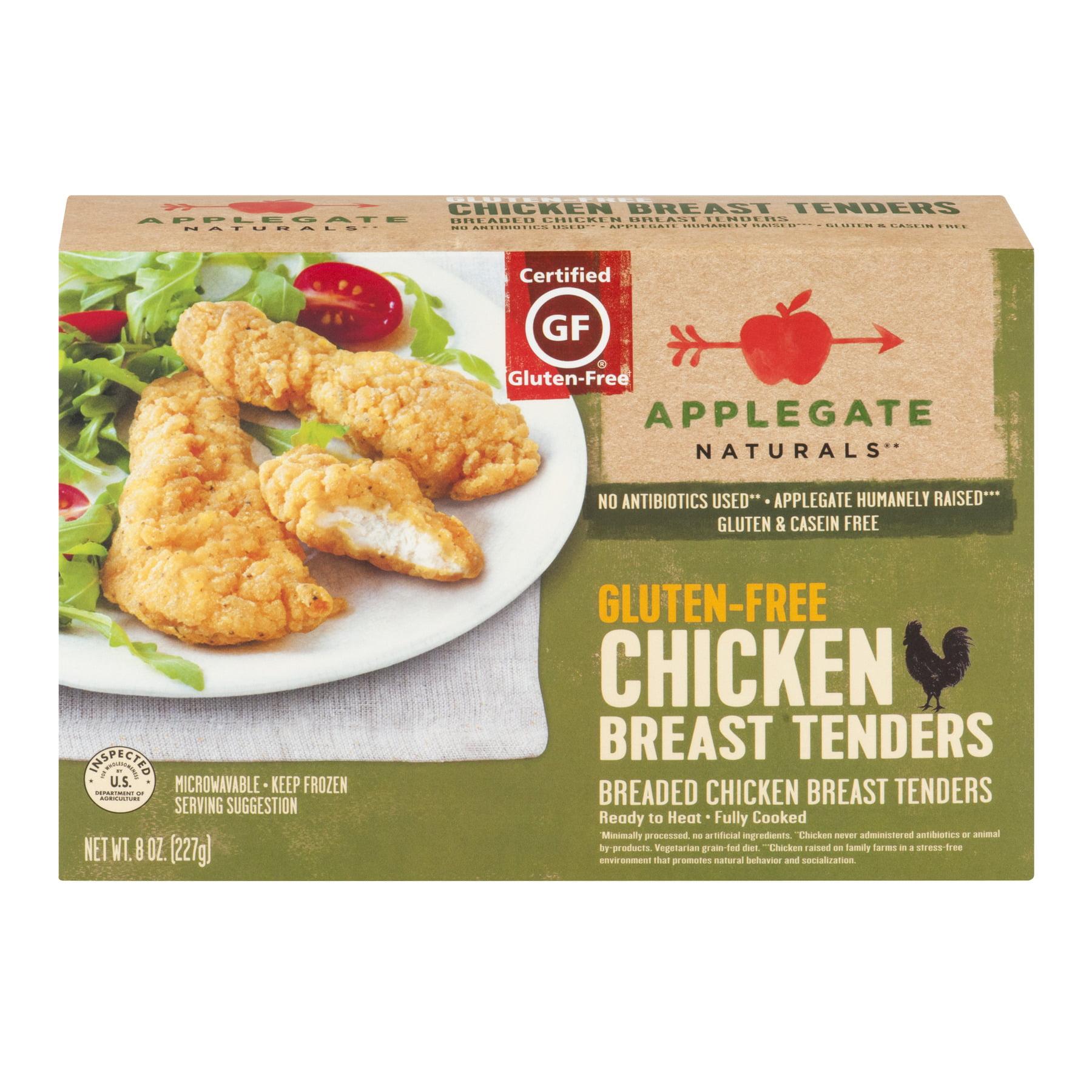 Applegate, Natural Gluten-Free Chicken Tenders, 8oz (Frozen), 8.0 OZ