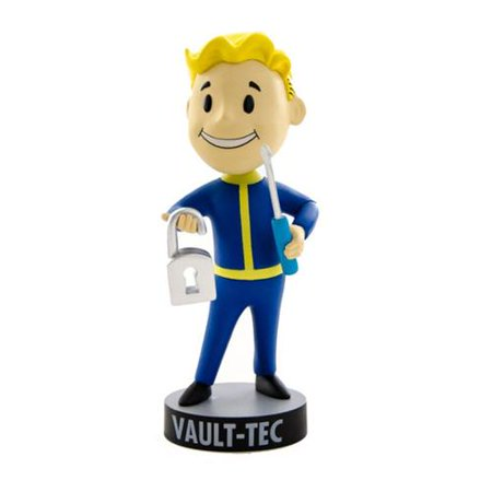 Gaming Heads Fallout 4 Vault Boy 111 Series 1 Lock Pick Bobble Head (Fallout Vault Costume)