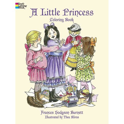 A Little Princess Coloring Book