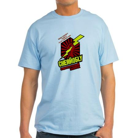 CafePress - Chernobly Hot Tub Time Machine - Light T-Shirt - CP