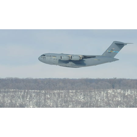Canvas Print Training Mission Low Flying Military Cargo Jet Stretched Canvas 10 x 14](Flying Jets)