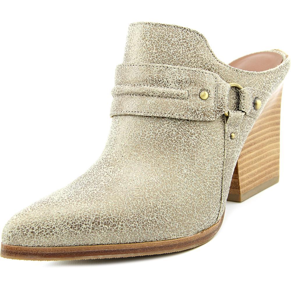 Donald J Pliner Vero 2 Women Pointed Toe Leather Mules by Donald J Pliner