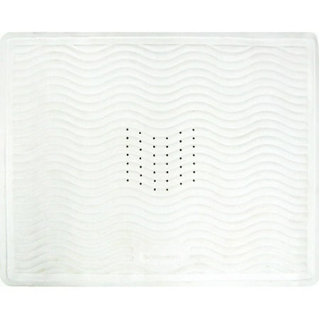 Rubbermaid Rubber Shower Stall Mat White Walmart Com