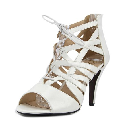 Beacon Raquel Women W Open Toe Synthetic White Sandals (Synthetic Sandals For Women)
