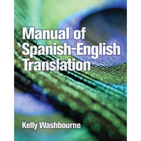 Manual Of Spanish English Translation