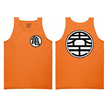 Dragon Ball Z Goku Kame Symbol DBZ Anime Officially Adult Tank Top - Best Adult Anime
