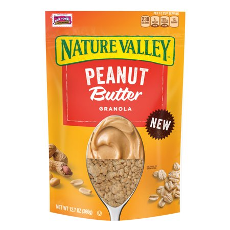 (2 Pack) Nature Valley Peanut Butter Granola, 12.7 oz Advantage Peanut Butter Granola