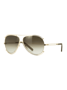 4fcbeab2b10f Product Image Chloé CE121S 743 Sunglasses Gold Frame Brown Grey Gradient  Lenses 61mm