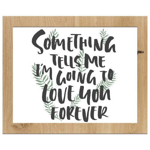 PTM Images 'Love You Forever' Framed Print