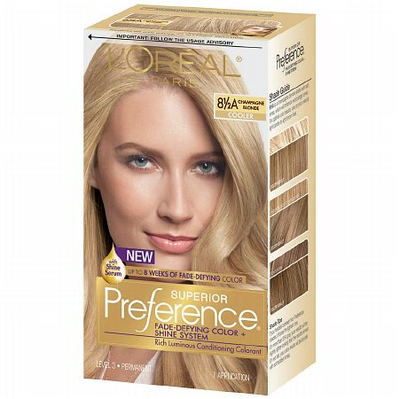Loreal Paris Superior Preference Permanent Hair Color Champagne