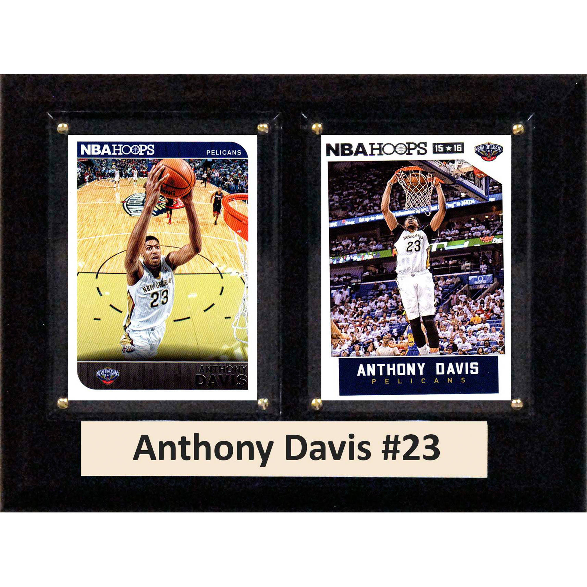 C&I Collectables NBA 6x8 Anthony Davis New Orleans Pelicans 2-Card Plaque