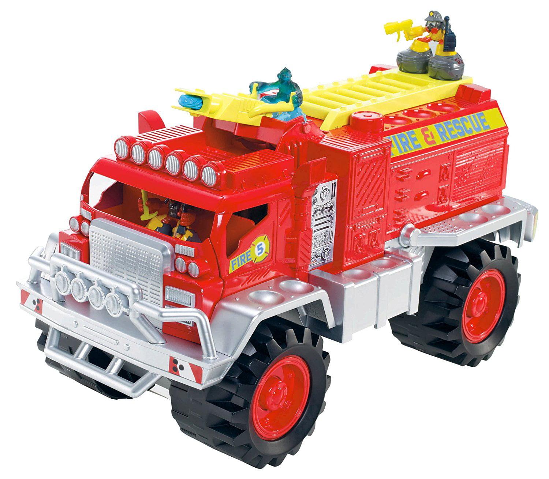 Matchbox Big Boots Blaze Brigade Fire Truck Vehicle by