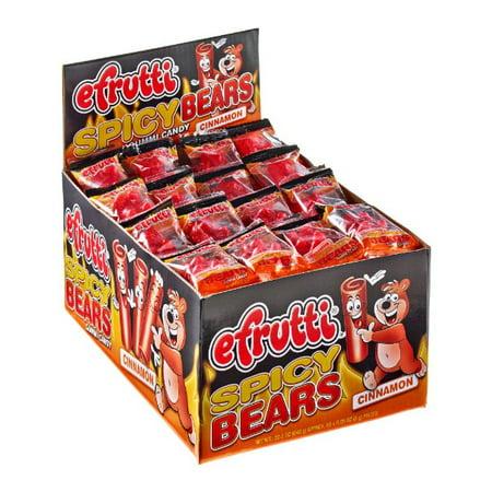E frutti cannelle gommeux ours, (paquet de 80)