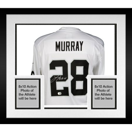 half off e8594 cf23b Framed Latavius Murray Oakland Raiders Autographed White ...