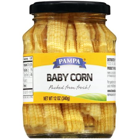 Pampa Baby Corn, 12 oz (Open Pollinated Corn)