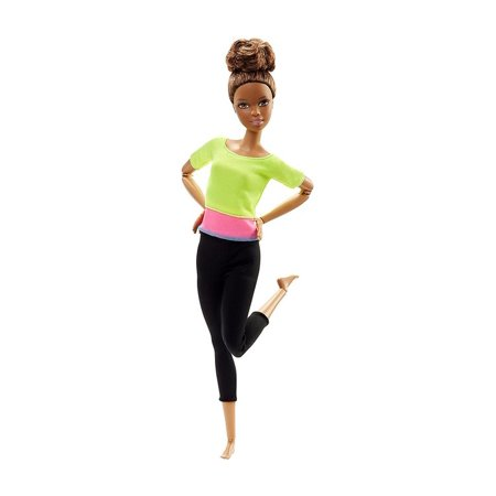 Barbie Made to Move Gymastic Posable Doll