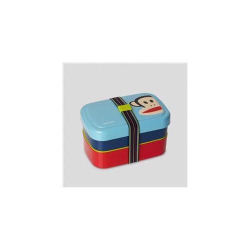 Room Copenhagen F20301100 Paul Frank Picnic Lunch Box Blue, Pack Of 6